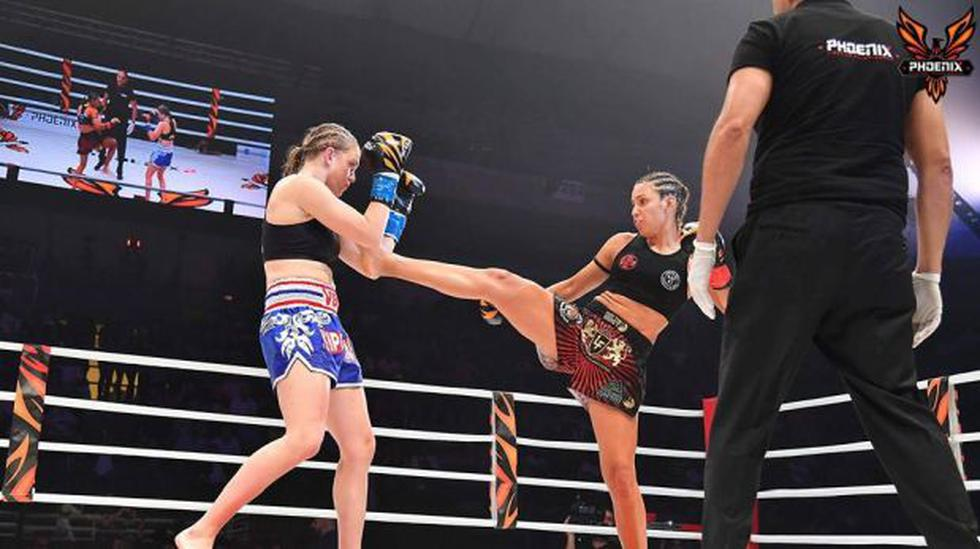 Muay thai: Antonina Shevchenko ganó dos títulos en Líbano - 2