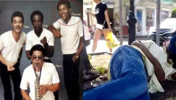 Manuel La Güira fue músico de Juan Luis Guerra y otros reconocidos artistas. Pasó de tenerlo todo a deambular por las calles de República Dominicana por su adicción a las drogas (Foto: El Chico Sandy)