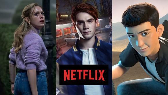 """Entre las novedades de este viernes están """"La maldición de Bly Manor"""", la cuarta temporada de """"Riverdale"""" y la segunda de """"Rápidos y furiosos: Espías al volante"""" (Foto: Netflix / The CW)"""