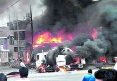 Tragedia en VES: Osinergmin dice que solo supervisa almacenamiento de combustibles en camiones cisterna