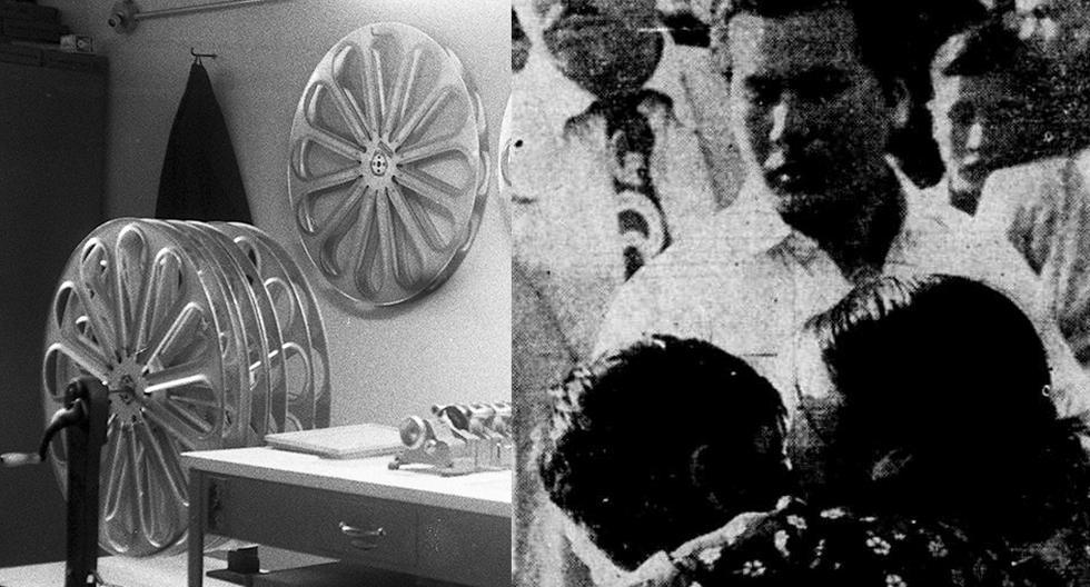 La proyección de una película de cowboys en el cine Astor de Barrios Altos terminó en desgracia, cuando alguien gritó ¡temblor! y produjo un estampida del público. Fue el 30 de marzo de 1952.  (Foto: GEC Archivo Histórico)