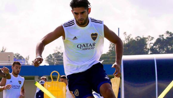 Carlos Zambrano sufrió una lesión en las costillas en el duelo ante Gimnasia La Plata, por la Superliga. (Foto: Boca Juniors)