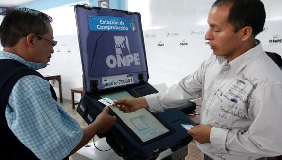 ONPE: ¿Cómo funciona el voto electrónico?
