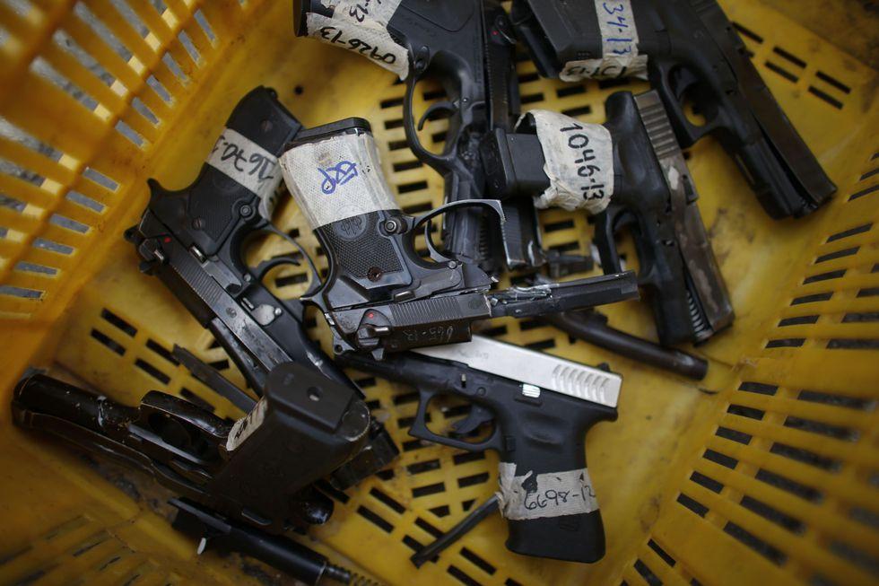 El 90% de homicidios en Venezuela se perpetra con armas de fuego. (AFP).