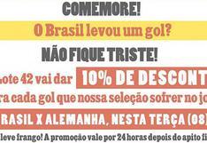Libros a precios regalados por el 7-1 que recibió Brasil