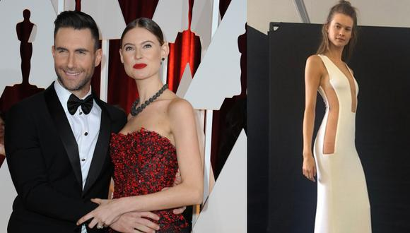 La ex modelo de Victoria's Secret compartió por primera vez su vestido de novia en redes sociales, a 7 años de su boda con el músico de Maroon 5, Adam Levine.