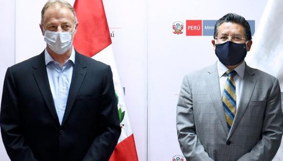 """Muñoz dijo que tiene conocimiento de las acciones que ha tomado el alcalde de Comas, Raúl Díaz Pérez, para impedir el show de Armonía 10 y apoyó """"todas las medidas"""" que puedan evitar su realización, anunciada para el 10 de enero. Foto: Andina"""