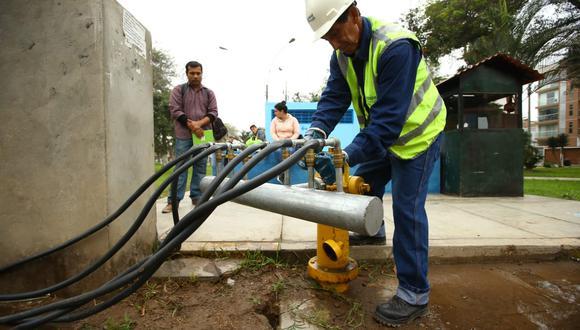 Veinte distritos de Lima fueron afectados por el corte del servicio de agua potable. (Foto: Fernando Sangama)