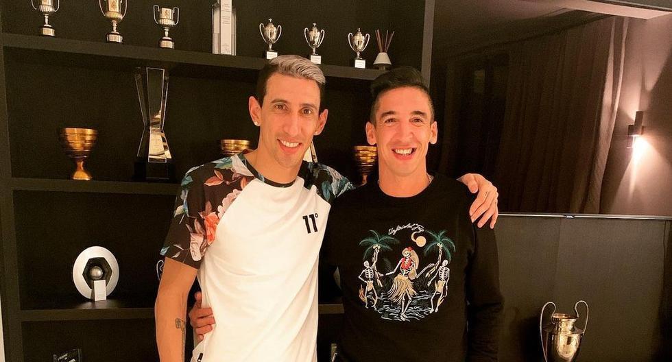 German Alemanno tiene una amistad de muchos años con Ángel Di María. (Foto: Instagram).