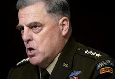 General Mark Milley dice que Trump nunca tuvo intención de atacar a China