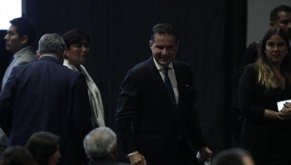 Omar Chehade vuelve a presidir la Comisión de Constitución, lo hizo también durante el gobierno de Humala (2011-2016) cuando fue parte del Partido Nacionalista. (Foto: GEC)