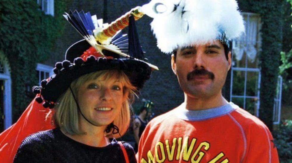 Mary Austin y Freddie Mercury. (Foto: Archivo)