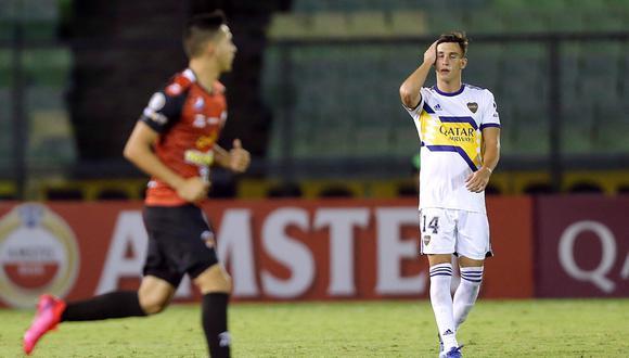 Boca Juniors empató 1-1 de visita con Caracas por la primera fecha del Grupo H por Copa Libertadores. (Foto: Reuters)