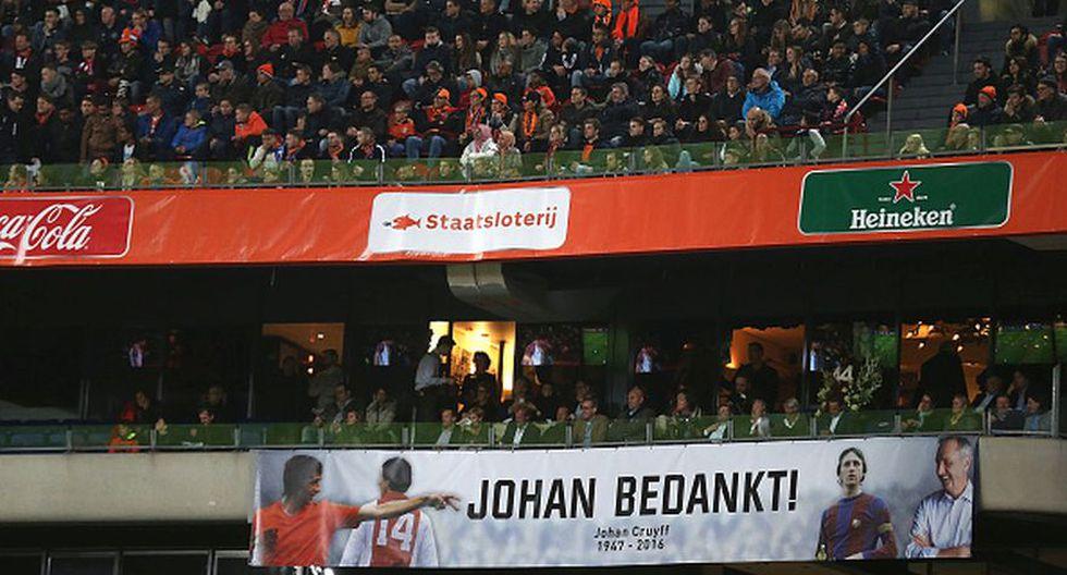 Holanda vs. Francia: el adiós a Johan Cruyff [GALERÍA]  - 9