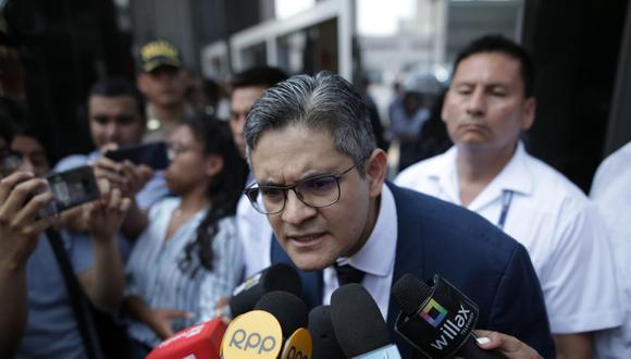 El fiscal José Domingo Pérez dijo esperar que la apelación de Keiko Fujimori contra la prisión preventiva sea rechazada. (Foto: GEC)