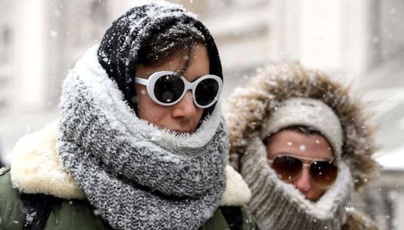 Algunas ciudades de Reino Unido registran temperaturas negativas, muy por debajo de algunos puntos del Polo Norte. (Foto: Getty)