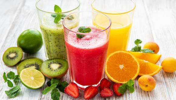 Tres bebidas naturales a base de frutas para refrescarte en verano. (Foto: Difusión)