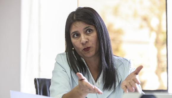 Silvana Carrión, procuradora ad hoc del caso Lava Jato, comentó que la fiscalía está corroborando los datos entregados por Odebrecht. (Foto: Karen Pérez Tarazona/El Comercio)