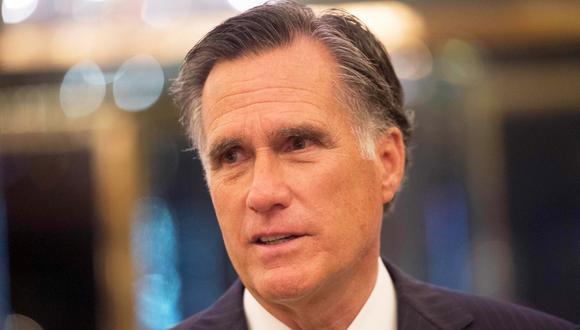 Mitt Romney, ex candidato a la presidencia de Estados Unidos contra Donald Trump. (Foto: AFP/Bryan R. Smith)