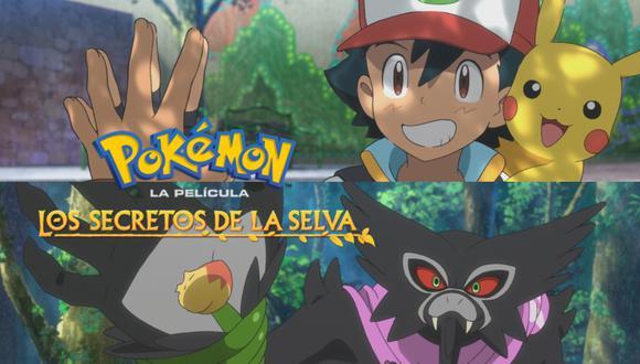Pokémon Los secretos de la selva, que se reveló en noviembre de 2020, es el largometraje de dibujos animados número 23 de Pokémon.   Crédito: The Pokémon Company International / Netflix
