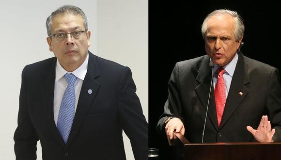 Pedro Angulo y Francisco Diez-Canseco son los aspirantes a la presidencia, respectivamente, en los partidos Contigo y Perú Nación. (Fotos: GEC)