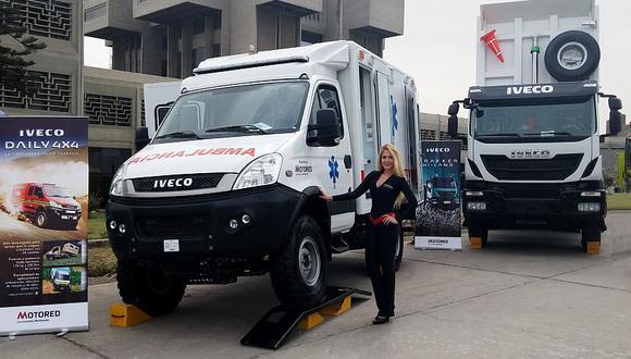 La ambulancia Off Road llegó al Perú