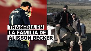 Encontraron muerto al padre de Alisson Becker, informaron las autoridades en Brasil