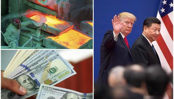 El FMI consideró que los aranceles impuestos por Trump en medio de la guerra comercial con China no generan una ganancia para Estados Unidos. (Foto: AFP)