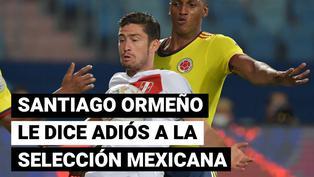 Santiago Ormeño le dice adiós a la selección mexicana