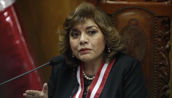 Zoraida Ávalos consideró que las marchas del 31 de diciembre del 2018 en respaldo a los fiscales Rafael Vela y José Domingo Pérez fueron espontáneas. (Foto: GEC)