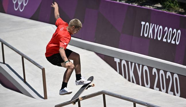 Angelo Caro consiguió el quinto lugar en la final de Tokio 2020. (Foto: EFE)