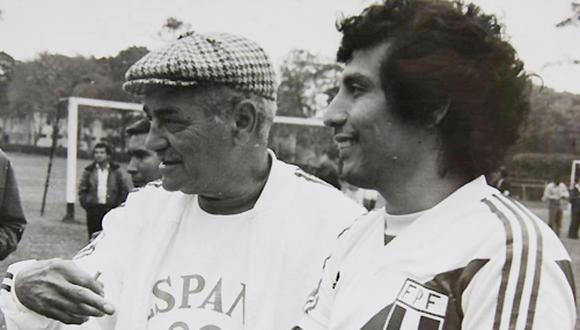 Elba de Padua 'Tim' llegó al Perú con el único cartel de haber sido campeón del fútbol argentino con San Lorenzo. (Foto: Archivo Histórico de El Comercio).