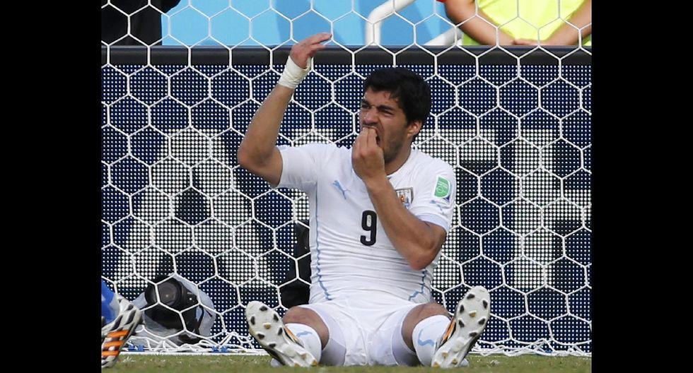 Así fue el mordisco de Luis Suárez al italiano Chiellini - 10