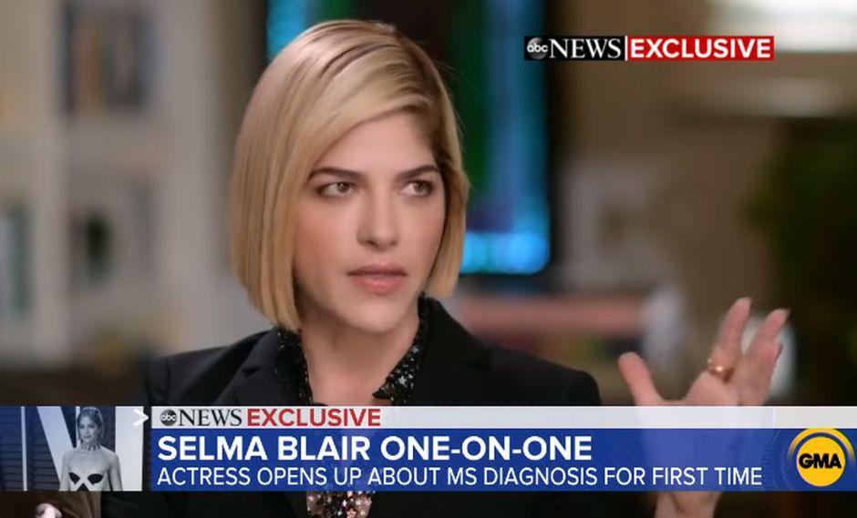 Selma Blair revela cómo ha cambiado su vida desde que le diagnosticaron Esclerosis Múltiple. (Foto: Captura de video)