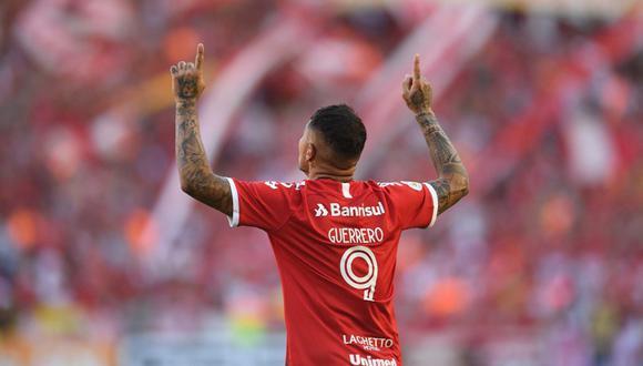 Paolo Guerrero, el '9' que genera discordia en Boca Juniors y el Brasileirao. (Foto: Agencias)
