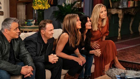 """Han pasado 17 años desde que se emitió el último episodio de """"Friends"""". (Foto: HBO Max)"""