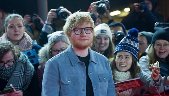 Ed Sheeran 'se muere' por colaborar con Drake en algún proyecto | Foto: AFP