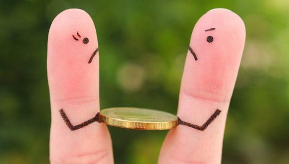 Las peleas sobre dinero a menudo terminan en ruptura. (Foto: Getty Images)
