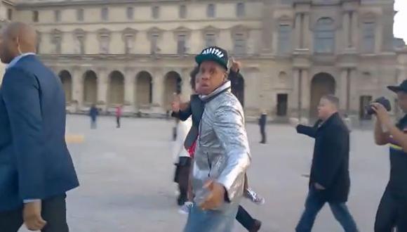 """YouTube: Jay-Z se molesta con turista que pregunta """"¿quién es?"""""""