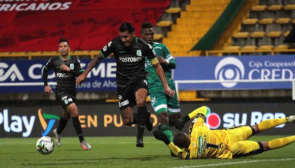 Atlético Nacional vs. La Equidad se miden en el partido de vuelta por cuartos de final de la Liga BetPlay 2021 | Foto: @Dimayor