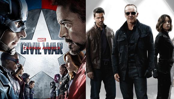 """""""Civil War"""": esta es la primera conexión con """"Agents of SHIELD"""""""