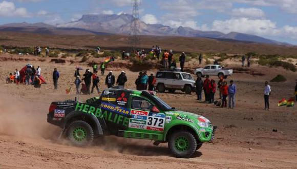 Dakar 2016: equipo peruano Alta Ruta 4x4 abandonó la prueba