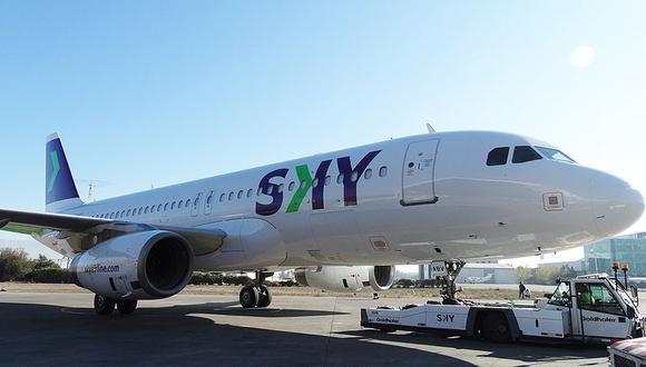 Sky vuela entre Lima y Santiago de Chile a nivel internacional. A nivel doméstico alcanzó la segunda posición del ránking de las aerolíneas que más pasajeros transportan dentro de nuestras fronteras, a inicios de año, como destaca su CEO, José Raúl Vargas. (Foto: Aviación News)