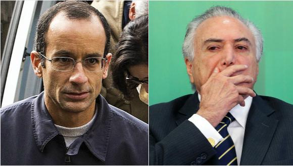 Marcelo Odebrecht vincula a Temer con corrupción en Petrobras