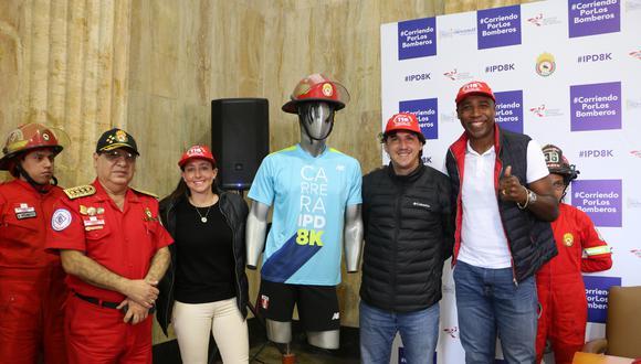 """Este domingo se realizará la carrera """"IPD 8K Corriendo por los Bomberos"""", que recaudará fondos para el  Cuerpo General de Bomberos Voluntarios del Perú."""