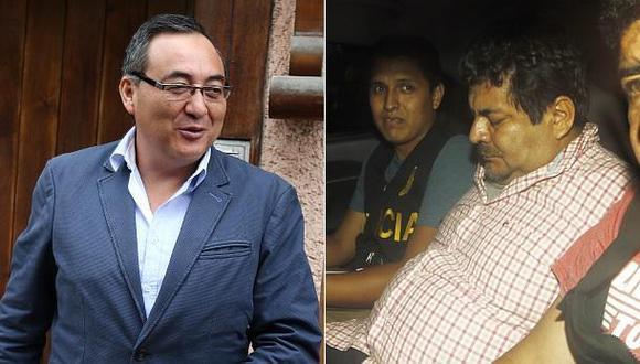 Jorge Cuba y Edwin Luyo están detenidos desde inicios del 2017 por el proceso del Caso Metro de Lima.