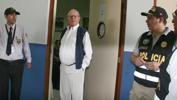El ex presidente Pedro Pablo Kuczynski cumple una detención preliminar de 10 días. (Foto: Ministerio Público / Video: Canal N)