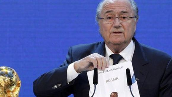 FIFA aceptó que Rusia y Qatar podrían perder sedes de mundiales