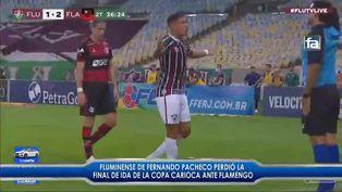 Fernando Pacheco perdió la primera gran final del Campeonato Carioca