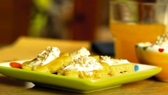 Tortitas de ajonjolí con queso